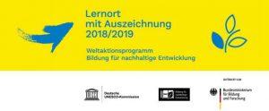 Lernort mit Auszeichnung 2018/20019